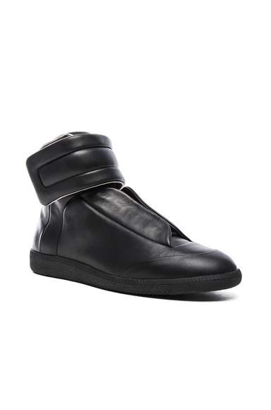 Leather Future High Tops