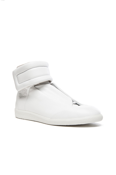 Future Leather High Tops