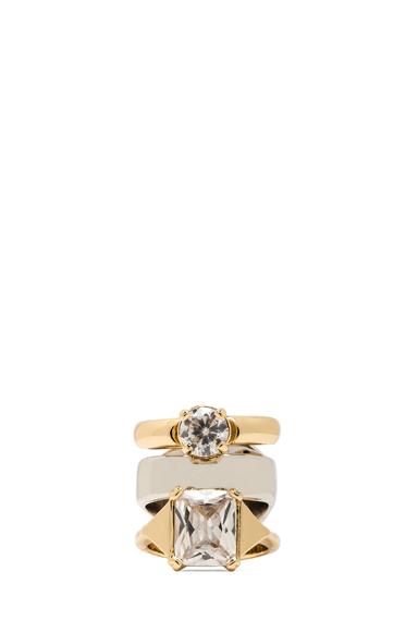 Triple Stack Brass Ring