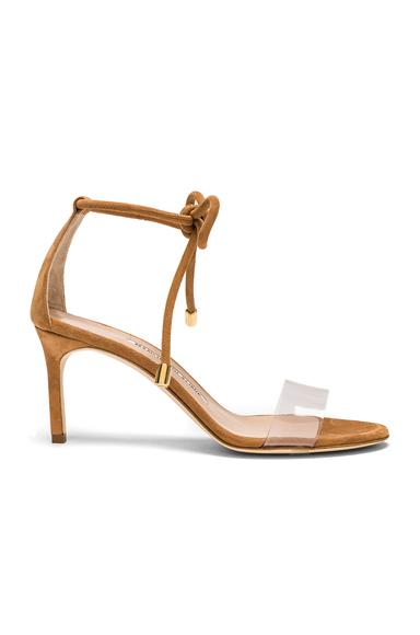 PVC & Suede Estro 70 Sandals