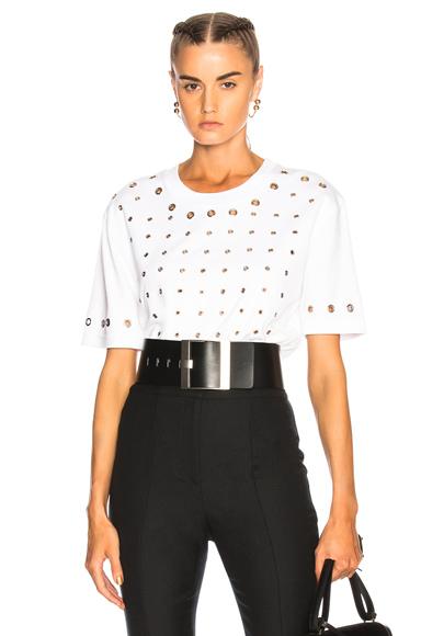 Grommet Front T-Shirt