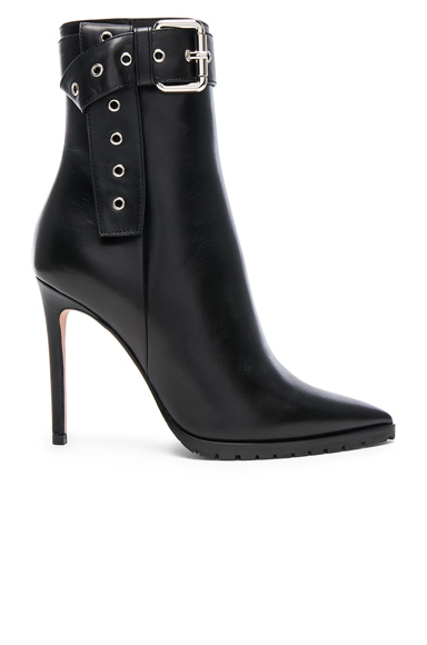 Leather Donna Booties