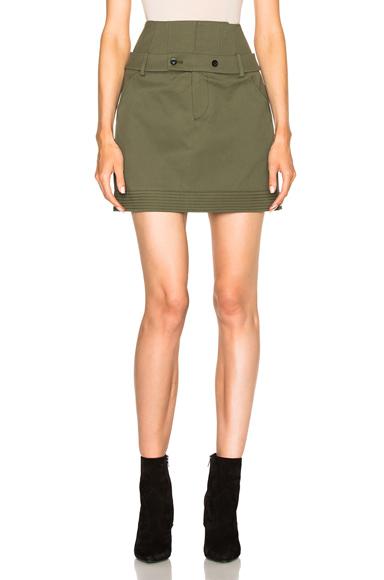 Ricky Canvas Skirt