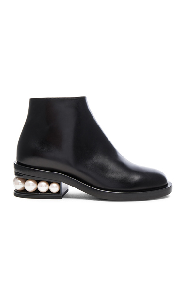 Leather Casati Pearl Boots