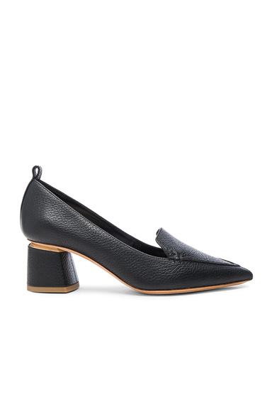 Leather Beya Block Heels