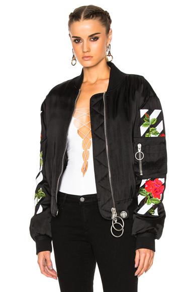 Roses Bomber Jacket