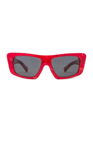 x Alain Mikli Square Sunglasses