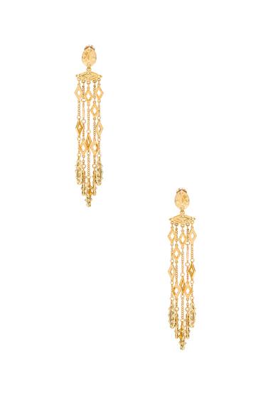 Diamond Tassel Earring