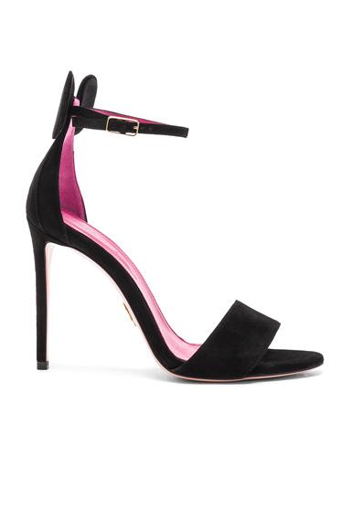Suede Minnie Sandals