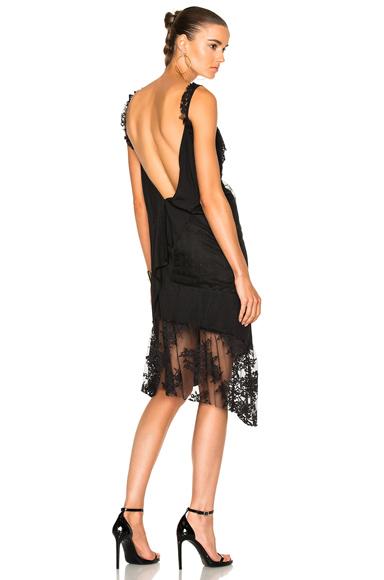 Asymmetrical Slip Dress