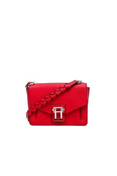 Whipstitch Strap Hava Shoulder Bag