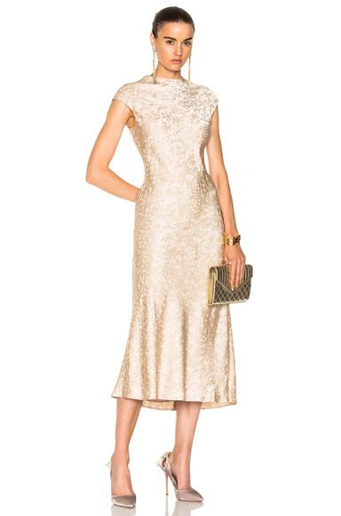 Cap Sleeve Bias Dress
