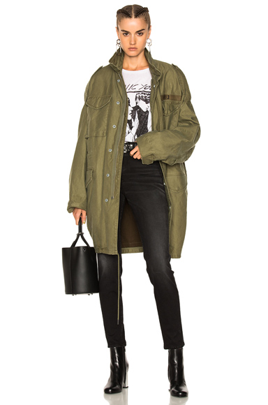 Gusseted M65 Jacket