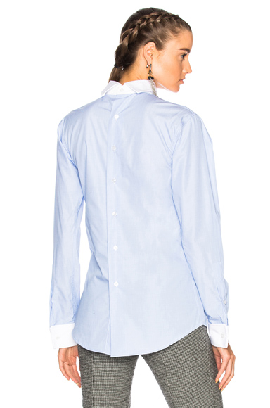 Backwards Shirt with French Cuff
