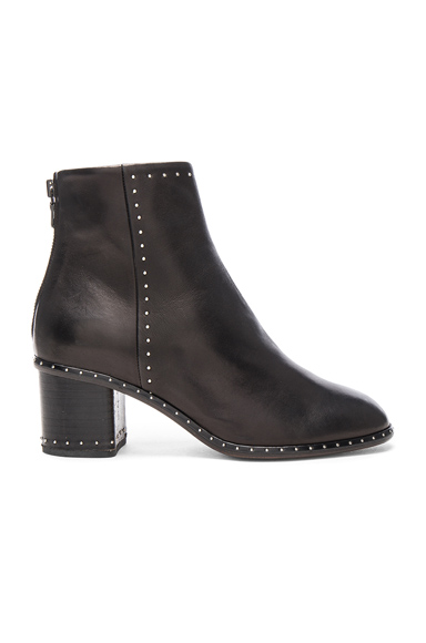 Leather Willow Stud Boots