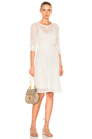 Bias Long Sleeve Dress