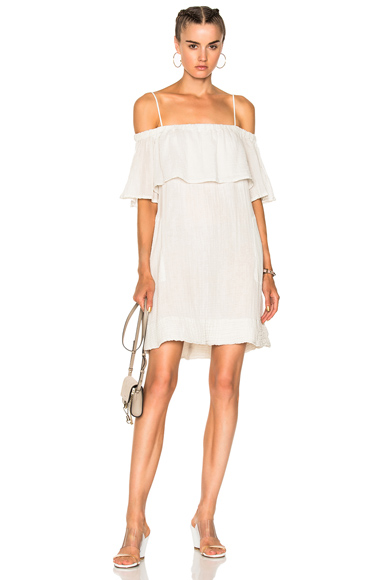 for FWRD Cotton Gauze Mini Dress