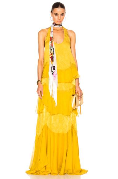 Woven Maxi Dress