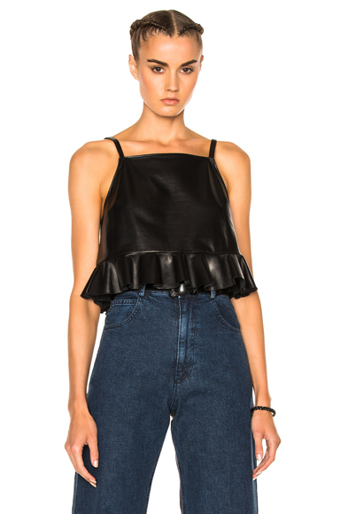 Plano Leather Top