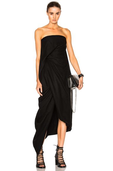Twirl Strapless Dress