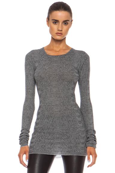 Round Neck Wool Pullover