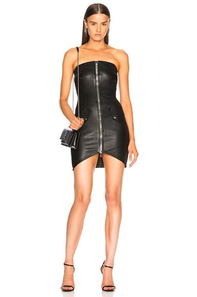 Kenzie Leather Dress