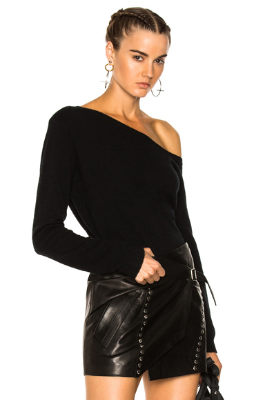 Claudine One Shoulder Sweater