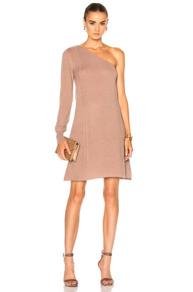 for FWRD One Shoulder Sweater Dress