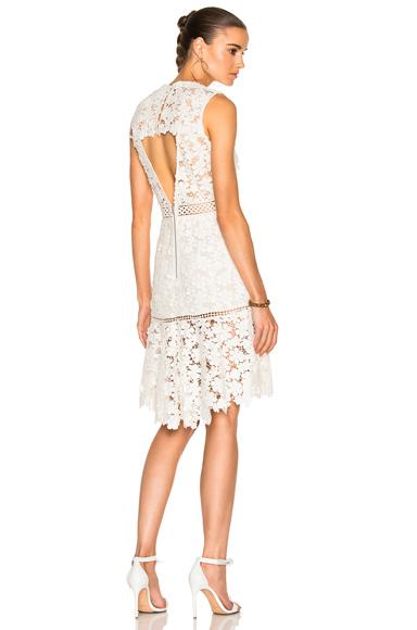 3D Crochet Sheath Dress