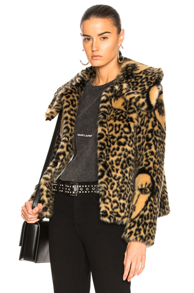 Arlo Faux Fur Jacket
