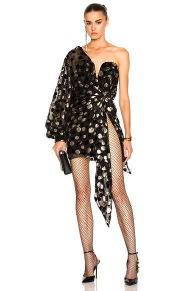 Bustier Asymmetrical One Shoulder Dress