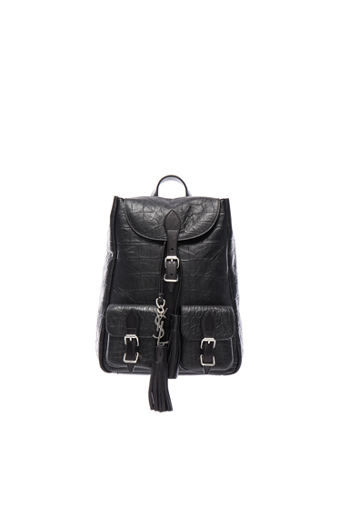 Small Croc Embossed Festival Backpack