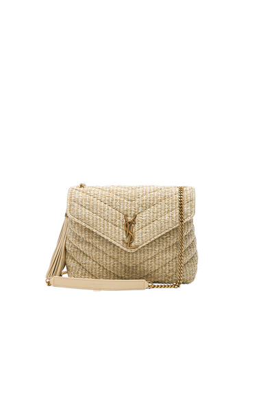 Small Raffia Soft Chain Bag