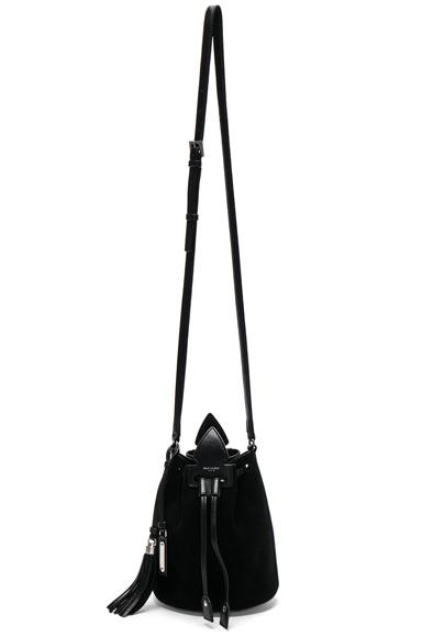Anja Suede Bucket Bag