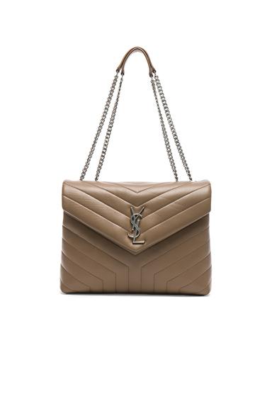 Medium Supple Monogramme Loulou Chain Bag