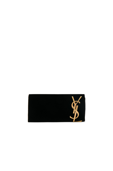 Velvet Smoking Clutch