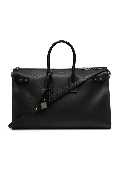 Medium Zipped Supple Sac de Jour Duffel Bag