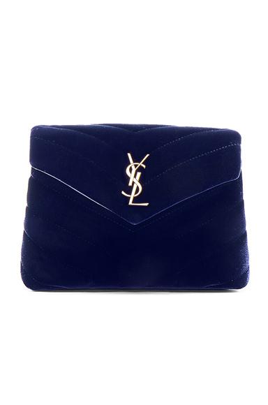 Velvet Toy Monogramme Loulou Strap Bag