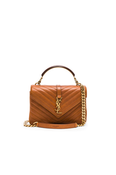 Medium Monogramme College Bag with Wooden Handle