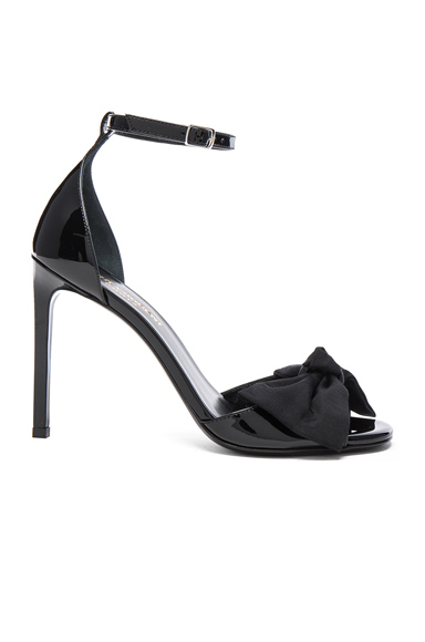 Patent Leather Jane Bow Sandals