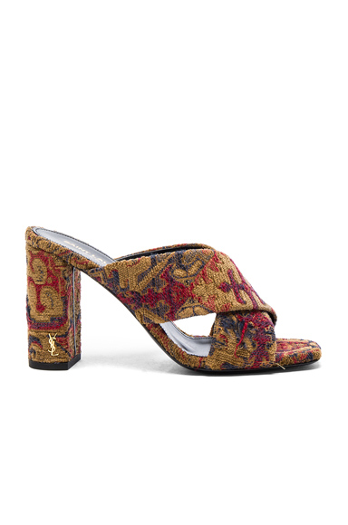 Loulou Tapestry Mules