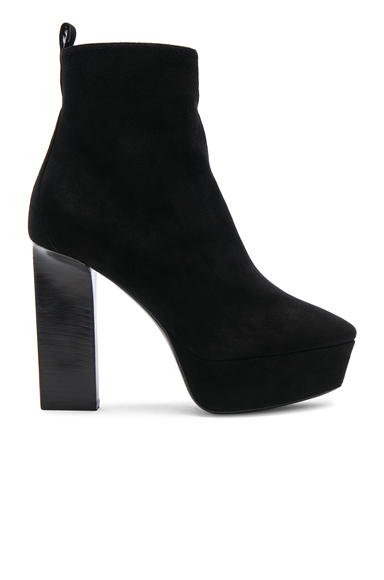 Suede Vika Platform Boots