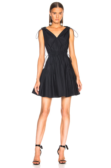 Gemma Tie Strap Mini Dress