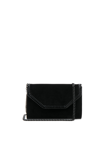 Falabella Box Velvet Clutch