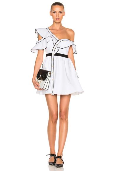Cotton Poplin Frill Dress