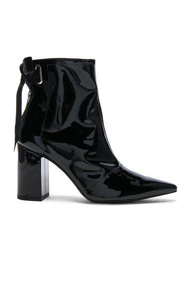 x Robert Clergerie Patent Leather Karli Boots
