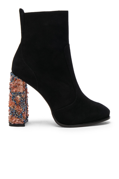 Kendra Suede Ankle Boots