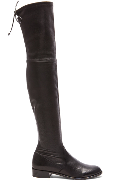 Stretch Leather & Neoprene Lowland Boots