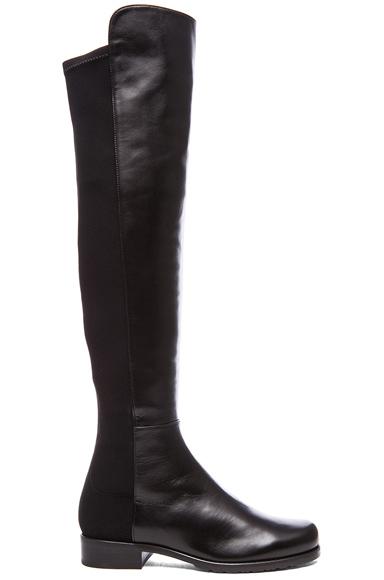 50/50 Leather & Neoprene Boots