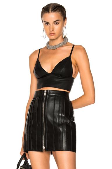 Leather Bralette